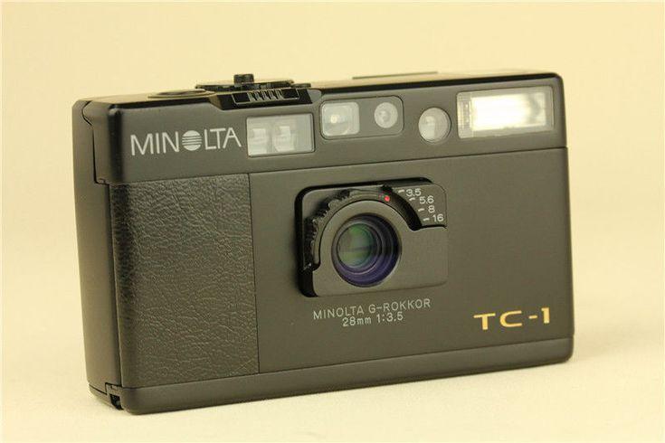 MINT Minolta TC-1 Black 70th Anniversary Limited 35mm Point & Shoot Film Camera   eBay