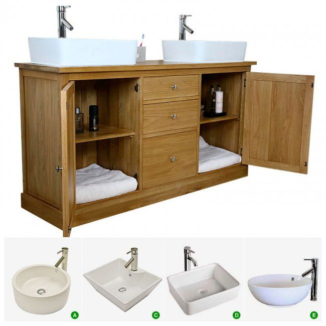 vanity unit with bowl sink. Double Sink Vanity Unit with Oak Bathroom Cabinet  Finesse Best 25 vanity unit ideas on Pinterest Small