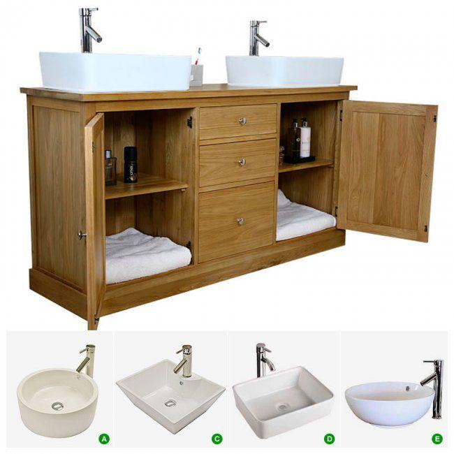 10 ideas about double sink vanity on pinterest double sink bathroom double vanity and double for Second hand bathroom fixtures