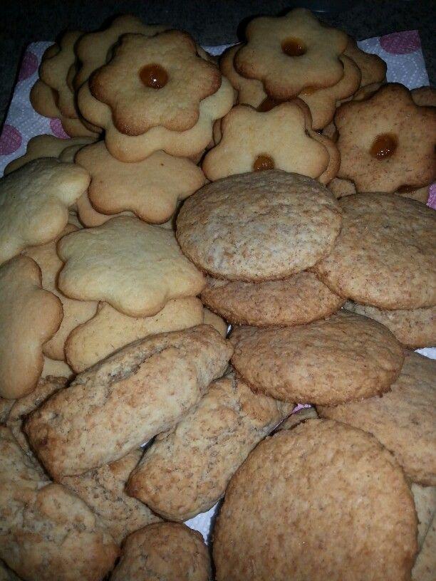 Biscotti e ciambelle integrali....