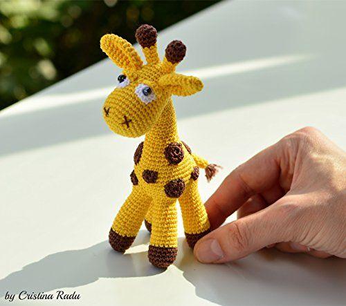 Giraffe Plüsch, weiches Spielzeug Giraffe, Häkeln Spielze... https://www.amazon.de/dp/B071R2QGPC/ref=cm_sw_r_pi_dp_x_WnY-zbKPVVFGY