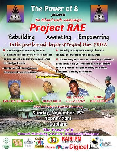 The Power Of 8: The Power Of 8 Present Project RAE Sunday, Nov, 15st, 2015