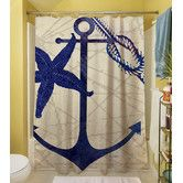 Found it at Wayfair - Anchor Polyester Shower Curtain