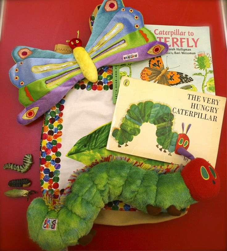 assembled by me, The very hungry caterpillar story sack