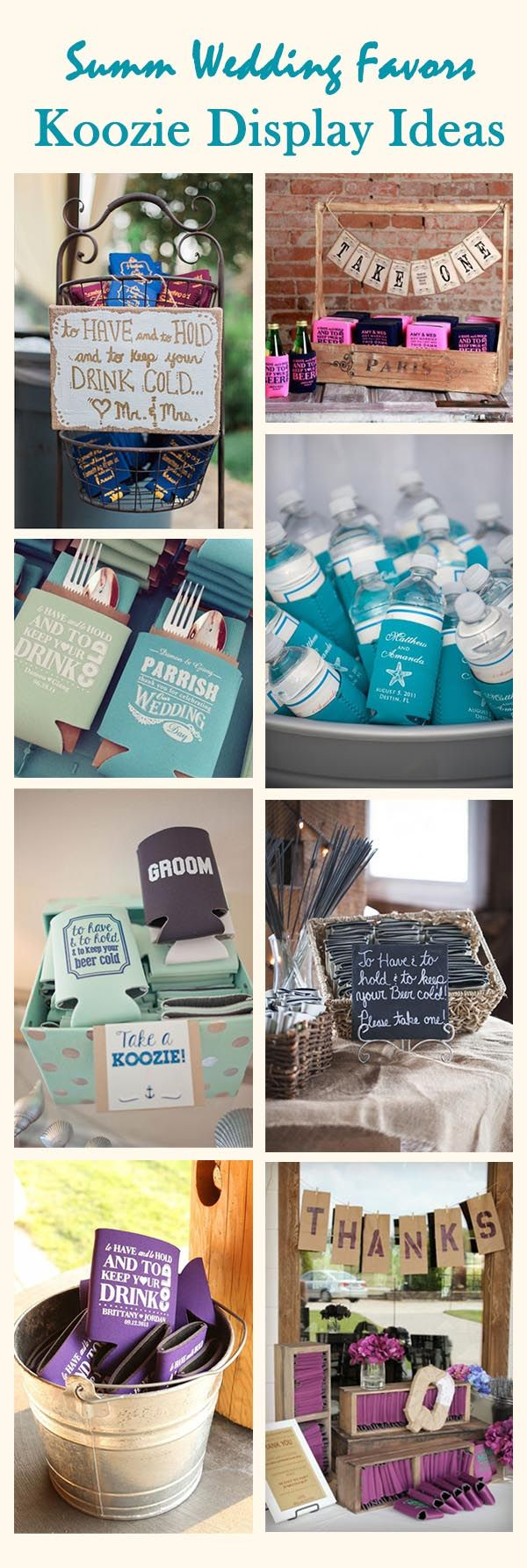 8 best Koozie ideas images on Pinterest | Wedding stuff, Knot and ...