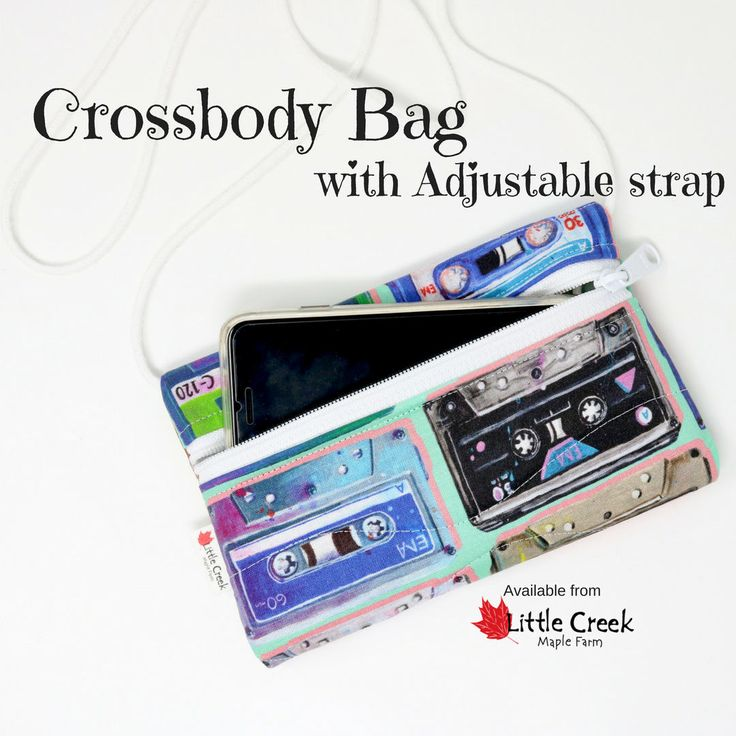 Now trending: cassette tapes crossbody bag with adjustable strap, Retro 80s phone bag in pink and mint green, comfortable round cotton strap, https://www.etsy.com/listing/545064022/cassette-tapes-crossbody-bag-with?utm_campaign=crowdfire&utm_content=crowdfire&utm_medium=social&utm_source=pinterest