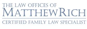 Child Support | LAW OFFICES OF MATTHEW RICH