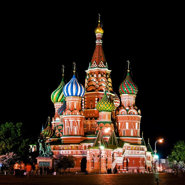 Saint Basil's Cathedral by zirrana