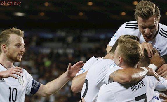 Finále EURO U21: Německo - Španělsko 1:0. Trofej vystřelil Weiser