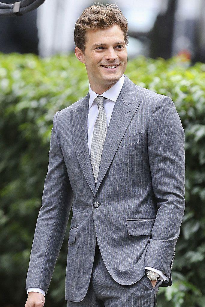 Jamie Dornan 50 Shades of Grey Movie | Jamie Dornan on Set Fifty Shades of Grey