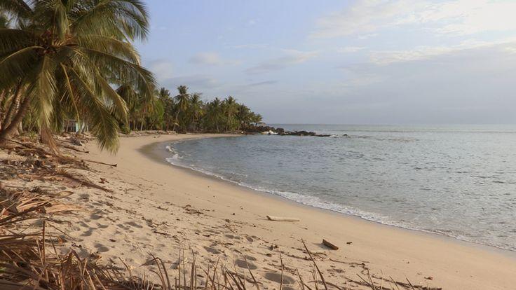 Playa donde se tomo posesión del Pacífico en 1513. Aquí entró en sus aguas por primera vez el primer Europeo