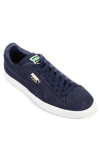 Suede Classic + Sneakers from PUMA in navy_1