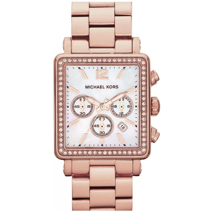 Michael Kors Women's Chronograph Hudson Gold-Tone Stainless Steel Bracelet  Watch - For Her - Jewelry & Watches - Macy's
