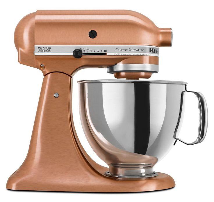 Kitchenaid ksm152pscp custom metallic series 5quart mixer