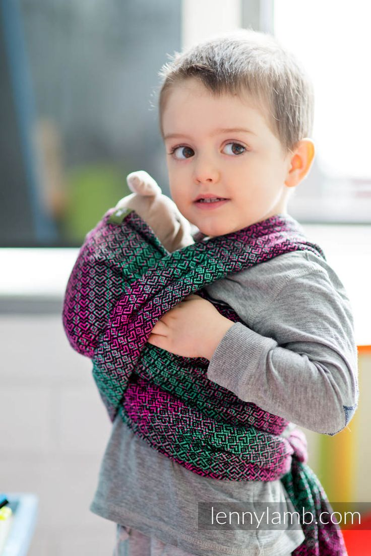 Your toddler will just love carrying dolls and teddy bears in a sling just the way you carry his/her younger sister or brother :)