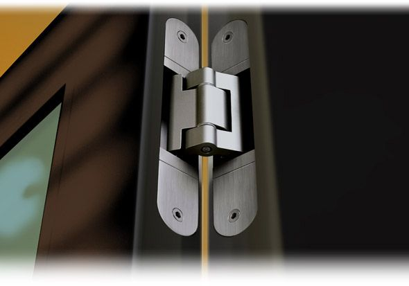 Tectus Concealed Hinges From Simonswerk Super Heavy Duty