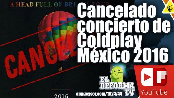 Cancelado concierto de Coldplay México 2016 por temor al chikungunya