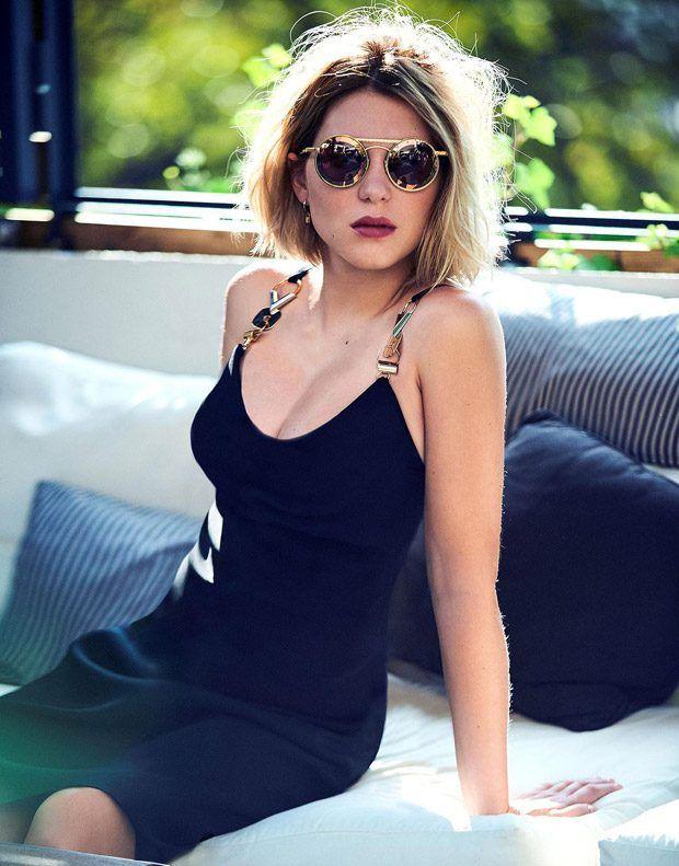 Lea Seydoux for Madame Figaro November 2016 - Louis Vuitton