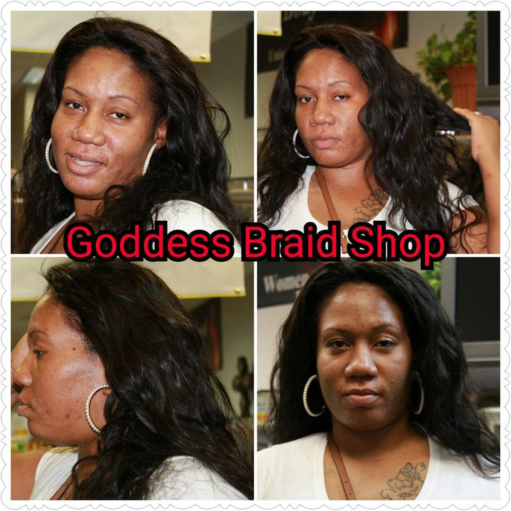 Sew-Ins at Goddess Braid Shop, St.  Petersburg FL. www.goddessbraidshop.com.