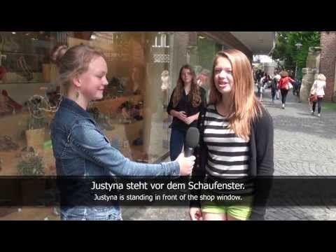 ▶ German Prepositions: in, an, auf, unter, über, vor, hinter, neben, zwischen (subtitled) - YouTube
