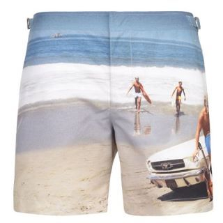 ORLEBAR BROWN Photographic Beach Print Short - Flannels