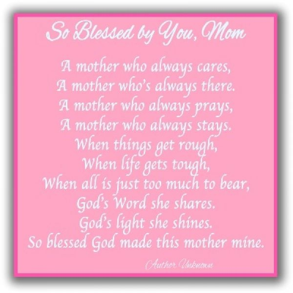 Examples Of Cute Poems For Mothers Day – Mothers Day Poems And Poetry Collection