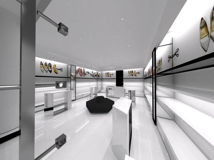 Projekt sklepu obuwniczego dla Baldowski Shoe store design for Baldowski  http://dekam.pl/projektowanie-i-wyposazenie-sklepow/baldowski