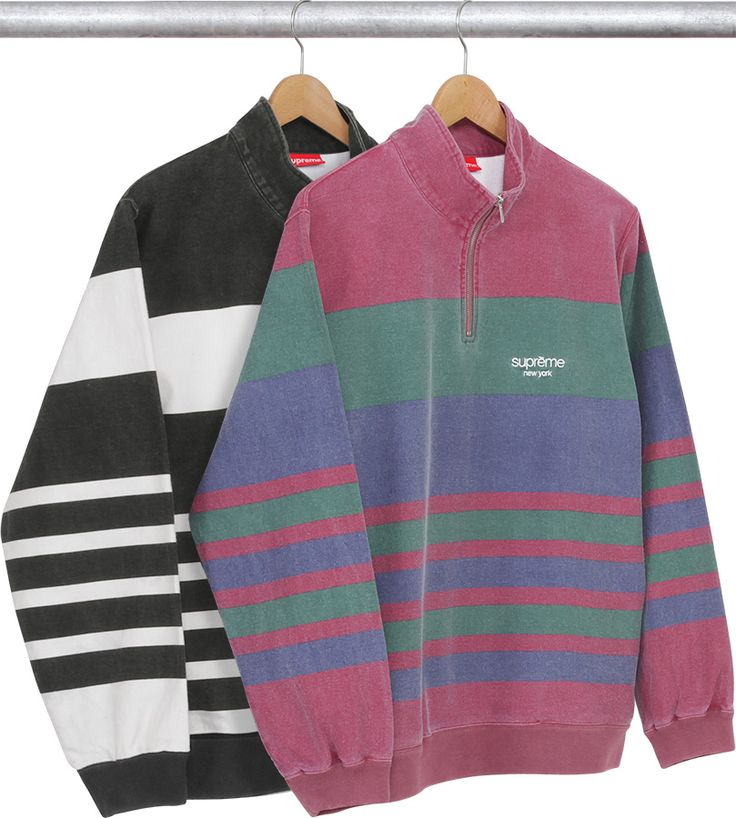 Supreme Striped Polo Sweater 2016