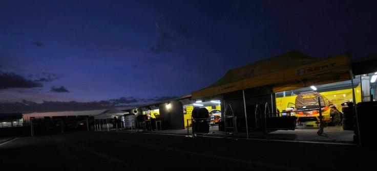 SEAT Sport box. World Touring Car Championship. Puebla circuit 2009.
