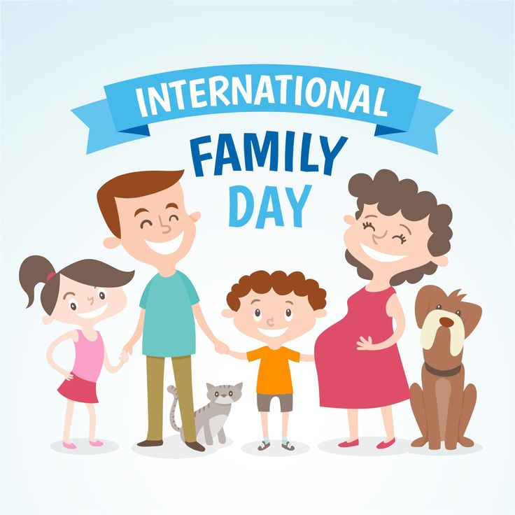 International Happy Family Background Vector | 500 Best