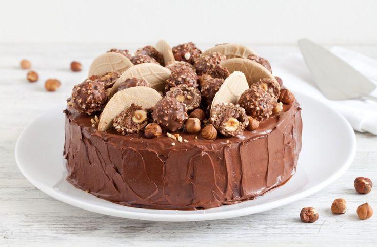 Torta Ferrero rocher ricetta