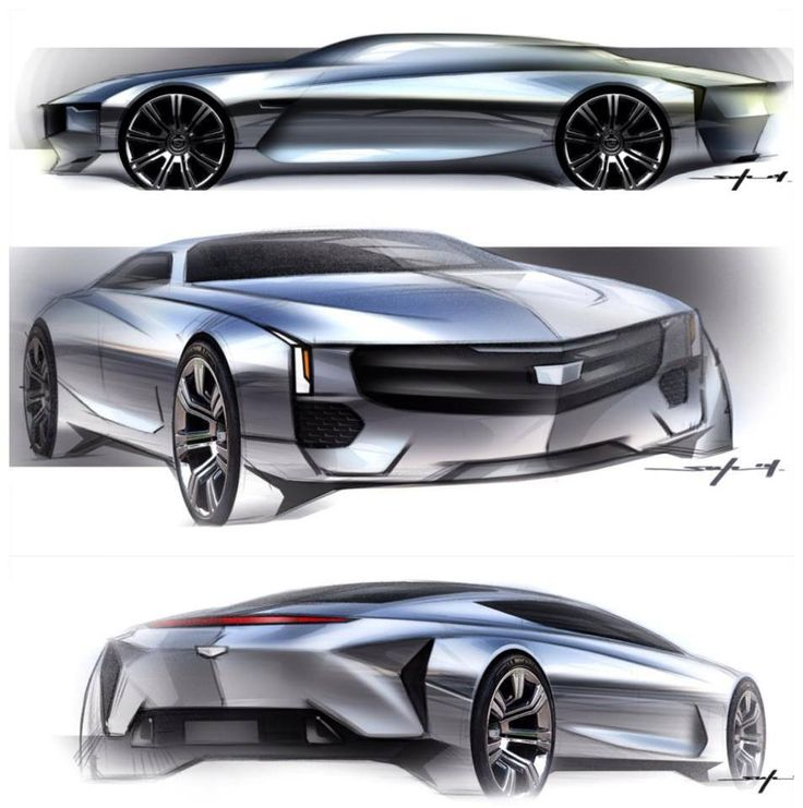 Chrome-y Cadillacs by CCS student Young Joon Suh