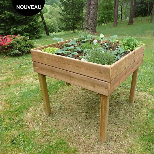 Table potagère CIHB pin autoclave prix promo Jardinière Camif 269,00 €