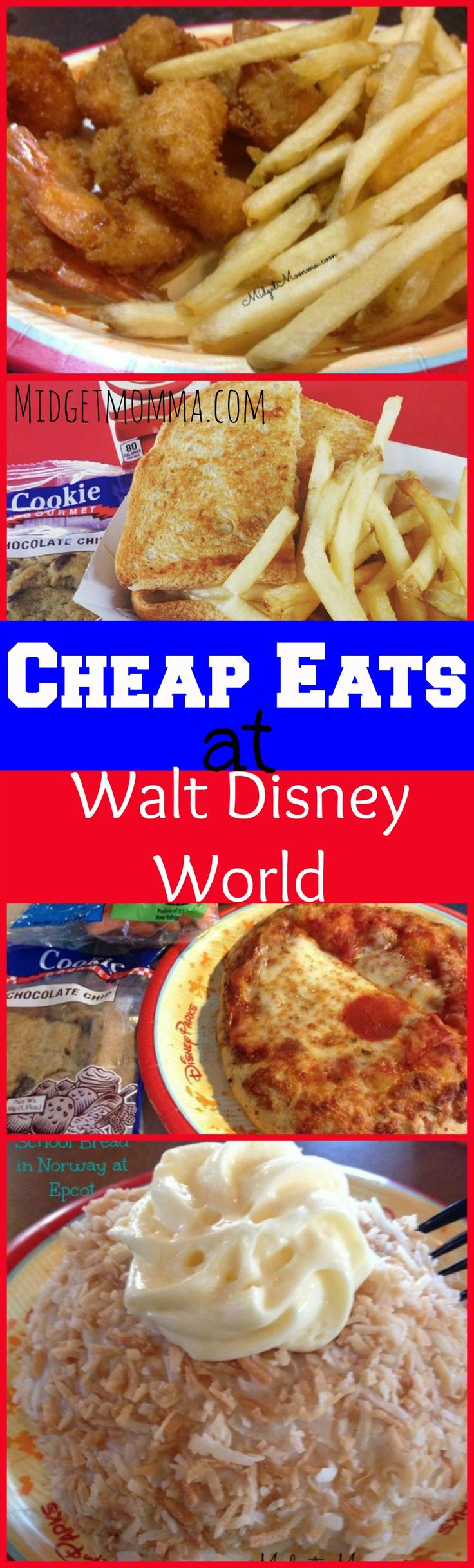 Cheap Eats at Disney World Disney food can get expensive but with these Cheap Eats at Disney World you can eat AMAZINGLY and not break the budget! These Cheap Eats at Disney World are amazingly tasty and amazingly easy on the wallet.