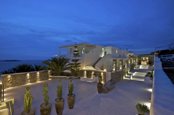 Bill&Coo Myconos, Greece Resort #facades #lighting #project #LED
