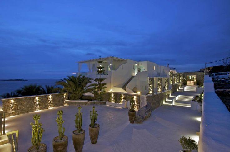 Bill&Coo Myconos, Greece Resort #facades #lighting #project #LED