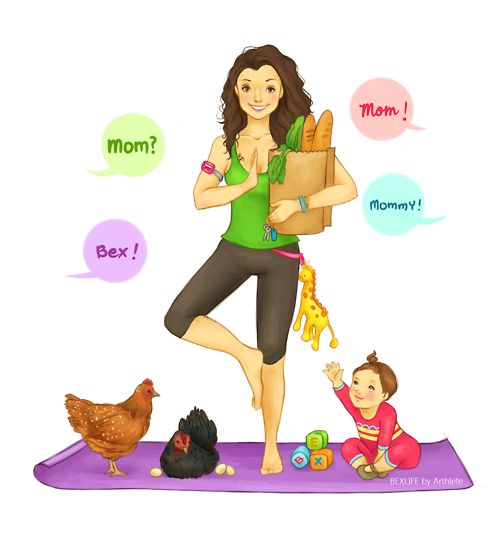 Arthlete ~ Mom | Fitness~Cartoon/Drawings | Pinterest ...