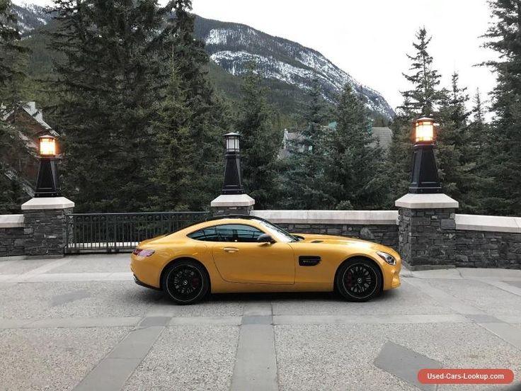 2016 Mercedes-Benz AMG GT S #mercedesbenz #amggts #forsale #canada