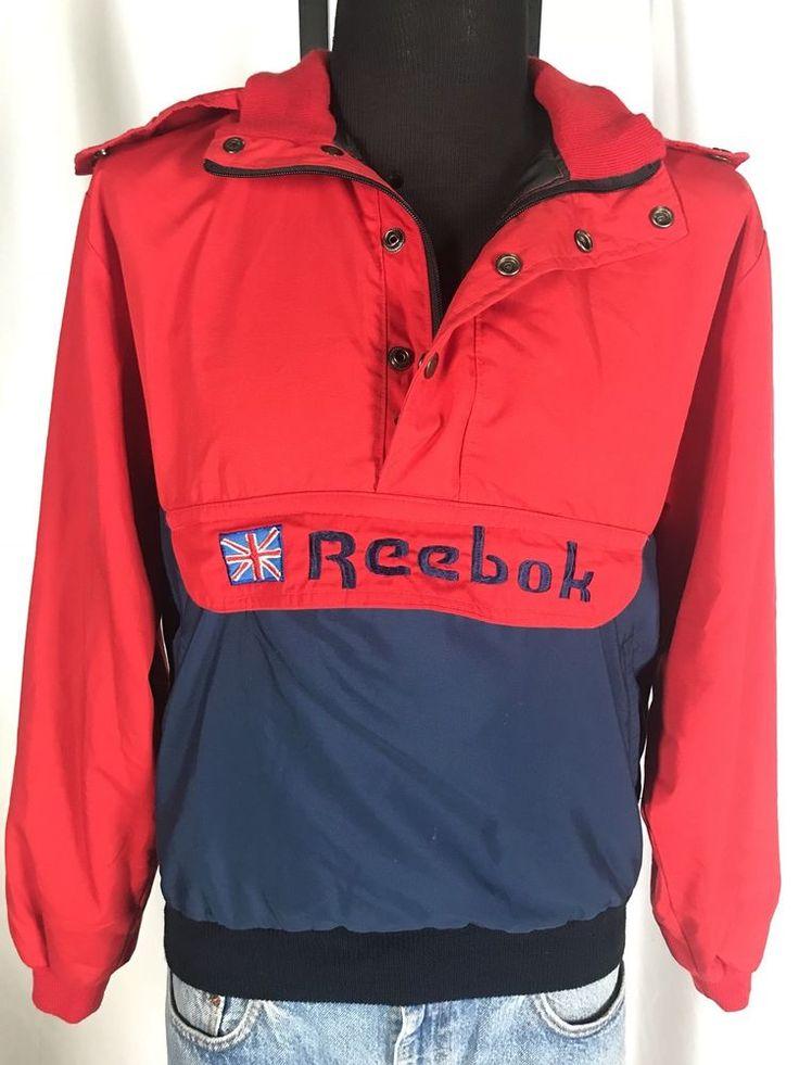 Vintage 1988 Reebok Jacket From Seoul Korea Olympics Super Rare