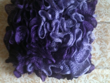 Purple Neck Warmer/Scarf