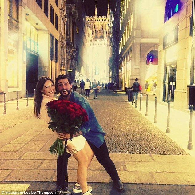 That's amore! Louise and Alik recently returned from a romantic minibreak in Milan, Italy ...
