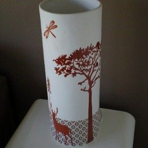 Retro Deer Lamp Light love this little beauty.  Available at www.retrohomefabrics.com.au