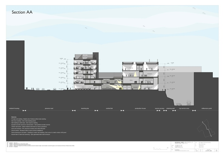 Birmingham Ormiston Academy / Nicholas Hare Architects  Ground plane as information opportunity