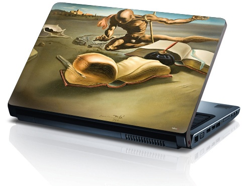 "My Salvador Dali skin book for Apple Macbook Pro 15"" 2011"