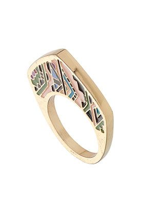 TOPSHOP  Aztec Print Ring. Love this so much!