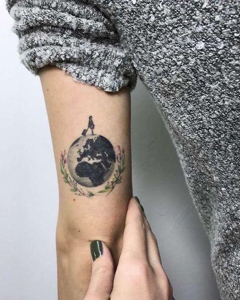 30 Diseños De Tatuajes Para Todos Los Amantes De Los Viajes Te
