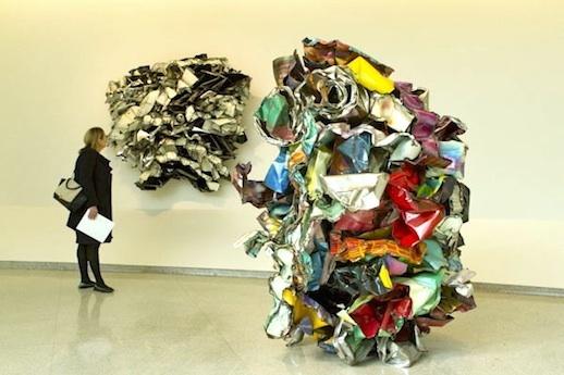 John Chamberlain at Guggenheim