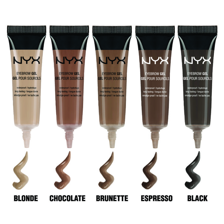our NEW budge-proof Eyebrow Gels. perfect brows every time...exciting find!