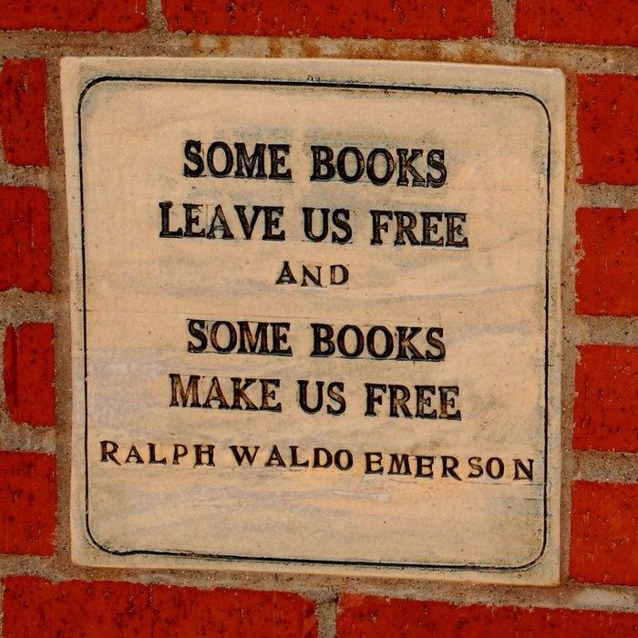 Some books make us free.