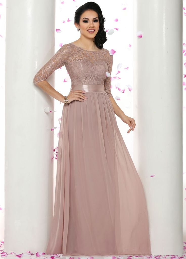 Best 25 bridesmaid dresses with sleeves ideas on for Best lace wedding dresses